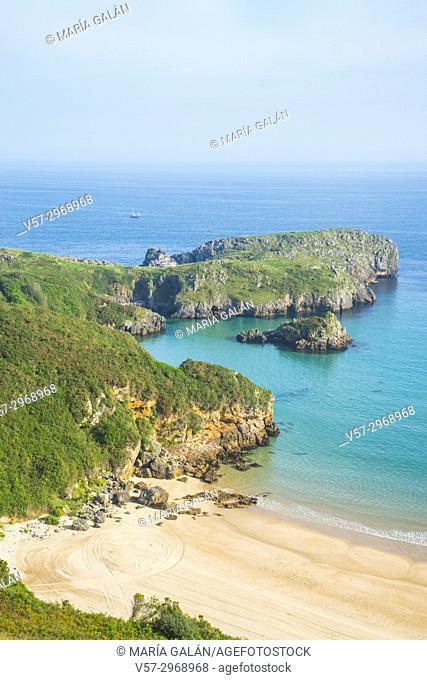 Torimbia beach. Niembro, Asturias, Spain