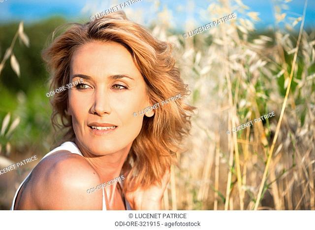 Woman beauty nature