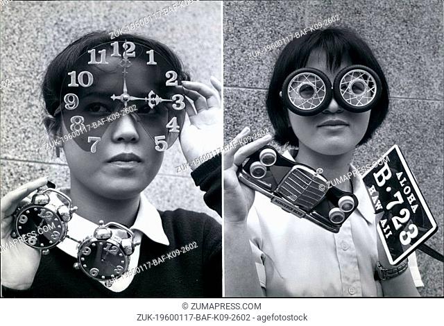 1966 - Crazy Sunglasses Big Business In Japan (Credit Image: © Keystone Pictures USA/ZUMAPRESS.com)