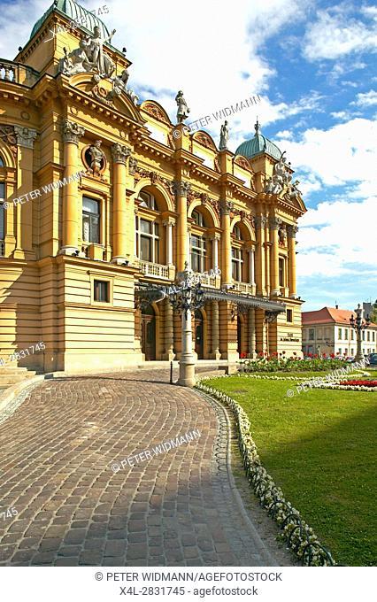 Stowacki Theater in Krakow, Poland, Europe