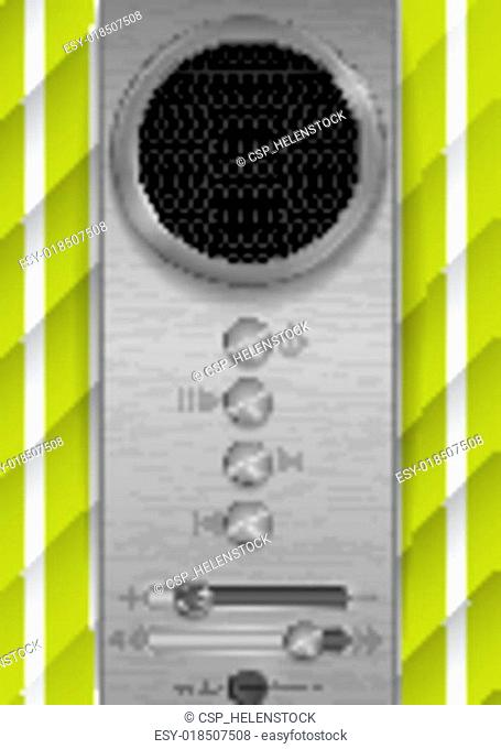 Abstract Speaker Concept Design