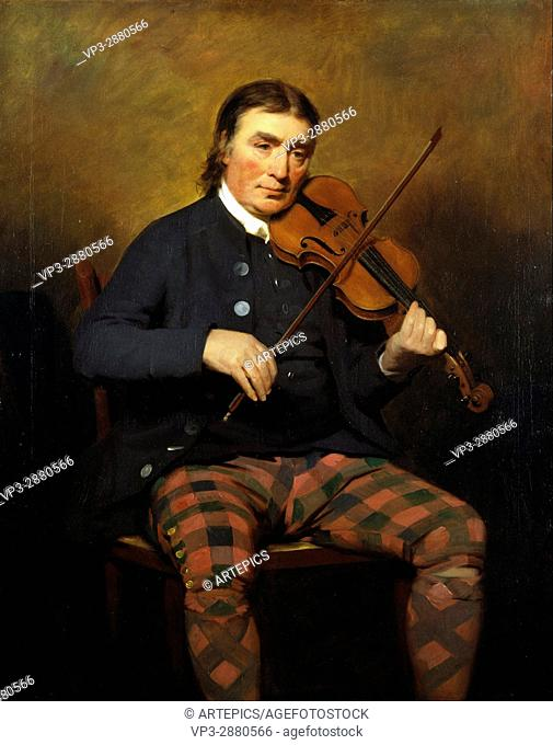 Sir Henry Raeburn - Niel Gow, 1727 - 1807. Violinist and composer - National Galleries of Scotland