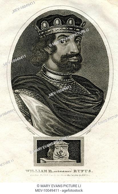 KING WILLIAM II Reigned 1087-1100
