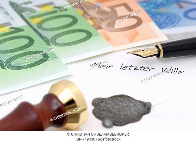 Will, inheritance tax (estate tax)