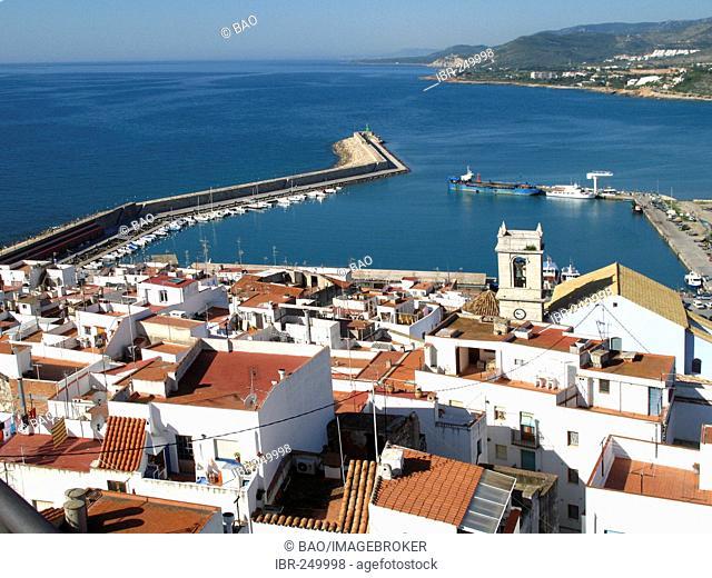 Harbour of Peniscola, Costa Dorada, Spain