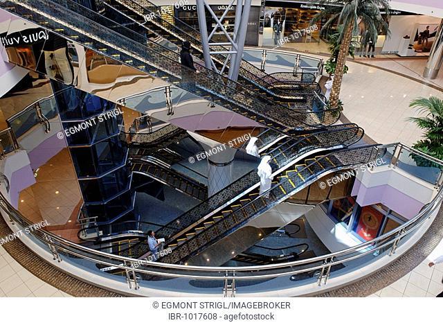 Marina Mall shopping centre, Emirate of Abu Dhabi, United Arab Emirates, Arabia, Near East