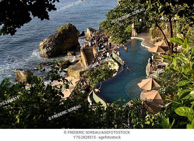 A swimming pool of Ayana Resort and Spa,Jimbaran,Bali,Indonesia