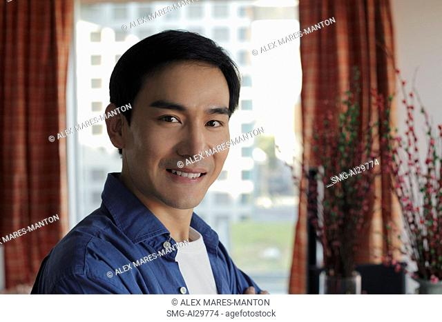 Headshot of man smiling