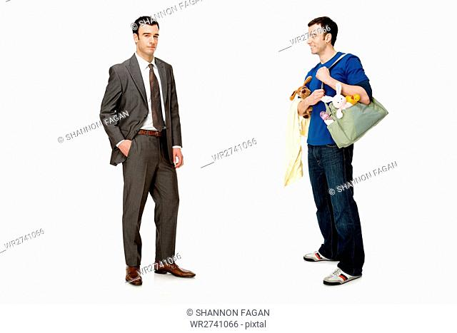 Businessman and father