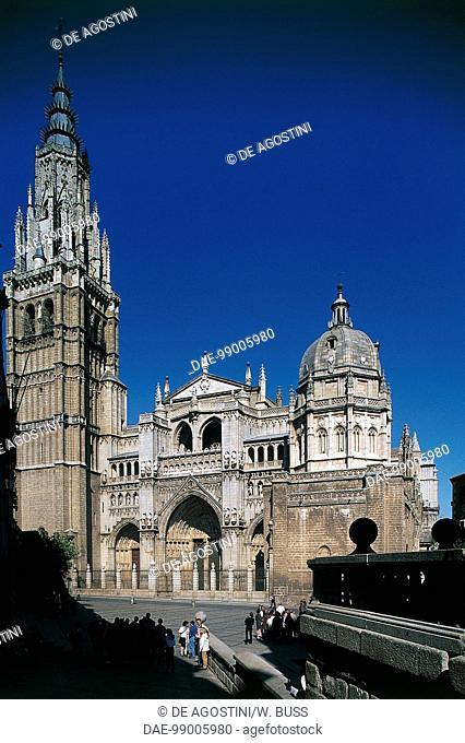 Primate Cathedral of Saint Mary of Toledo, 1226-1493, Toledo (UNESCO World Heritage List, 1986), Castile. Spain, 13th-15th century
