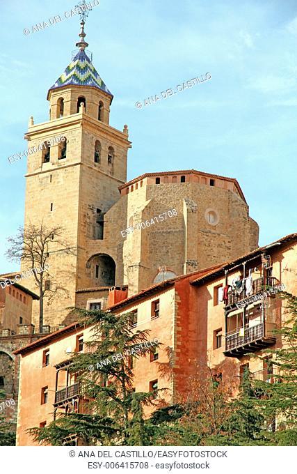 Albarracin village Teruel Aragon Spain