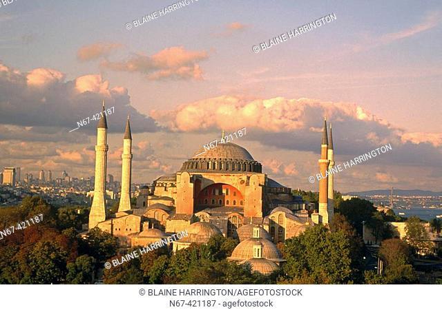 St. Sophia mosque, Istanbul. Turkey