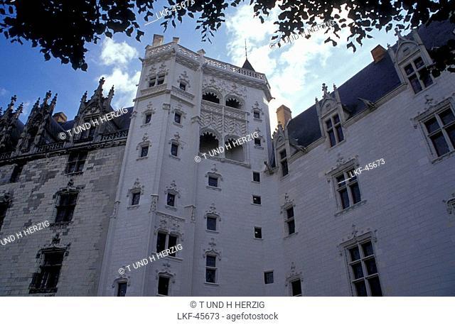 Chateau des Ducs de Bretagne, Nantes, Brittany, France