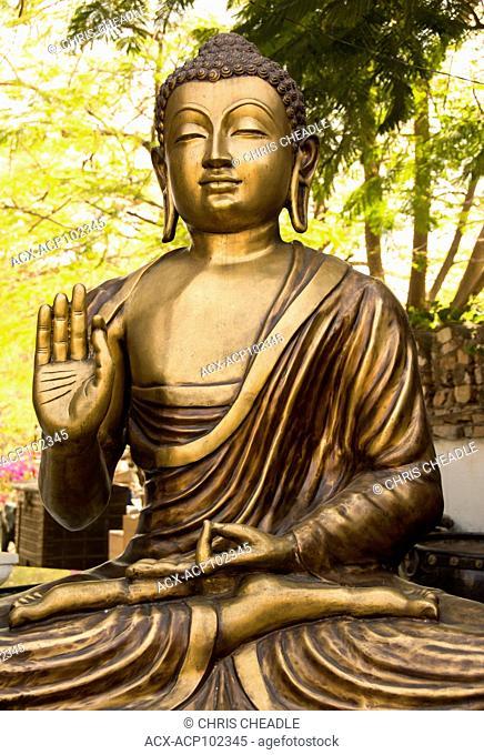 Buddha sculpture at Udaipur, Rajastan, India