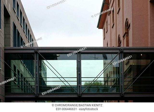 Glass passage