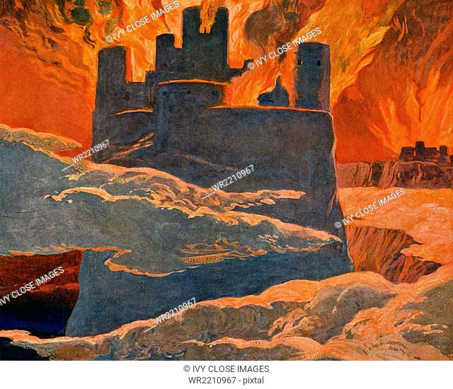 According to Norse mythology, Ragnarok is the doom of the gods when the universe will be consumed by fire and a new golden age will follow