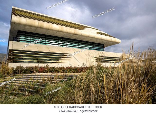 Pierresvives building, Architect Zaha Hadid, Montpellier, France,