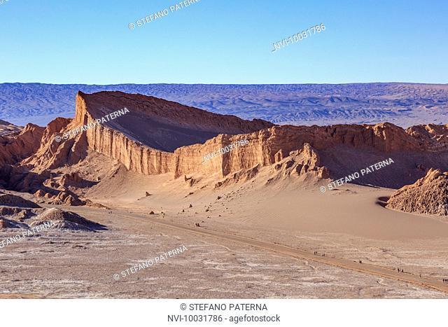 The Anfiteatro, Valle de la Luna, Atacama Desert, Chile, South America