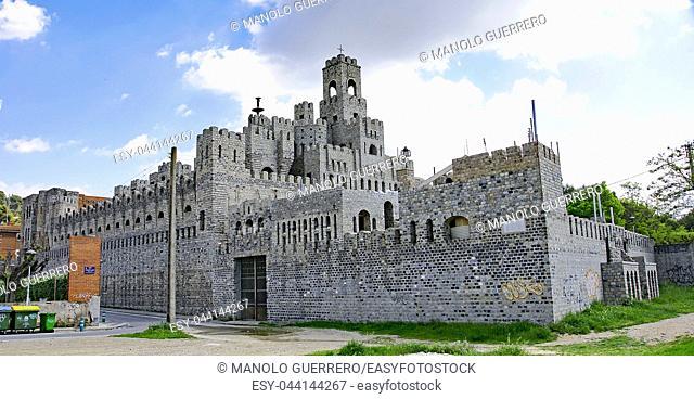 Castle in les Fonts de Rubí, Barcelona, Catalunya, Spain