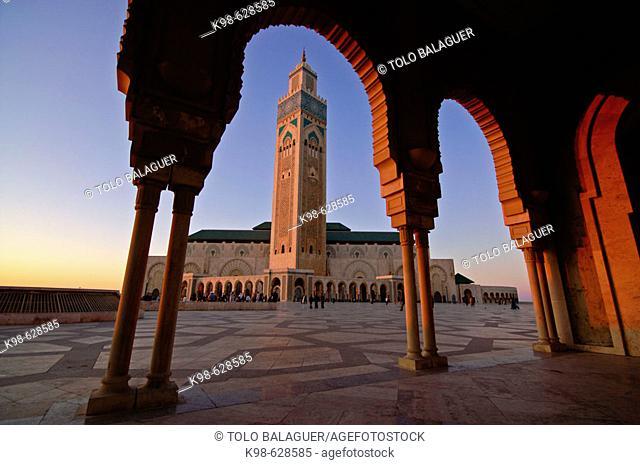 Hassan II Mosque. Casablanca (Dar el Beïda). Morocco