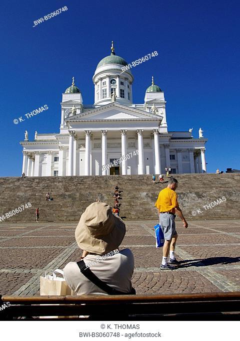 Helsinki, Senate Cathedral on Senate Square, Finland, Helsinki