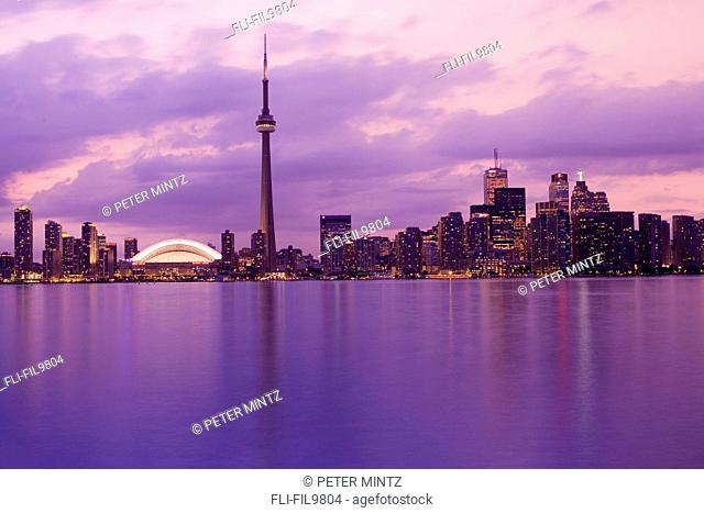City Skyline, Toronto, Ontario