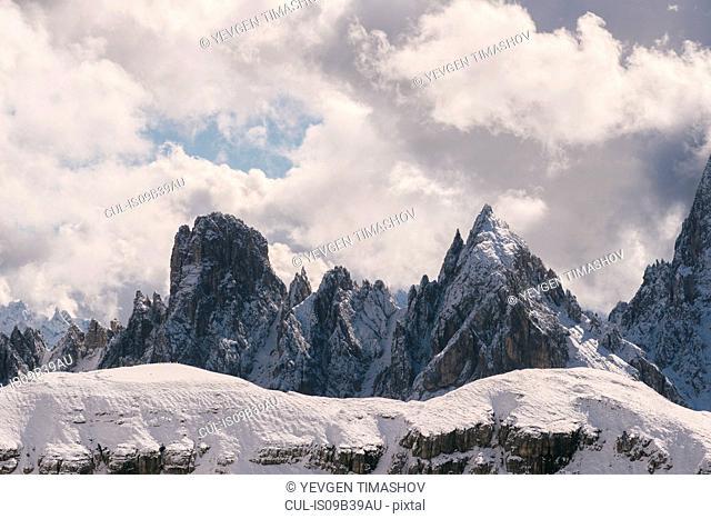 Tre Cime di Lavaredo area, South Tyrol, Dolomite Alps, Italy