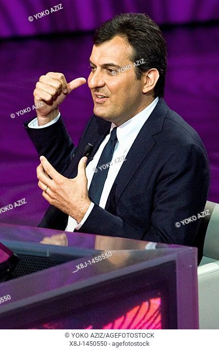 29 05 2011  Milan  Telecast 'Che tempo che fa'  Mario Calabresi