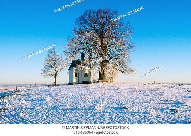 Chapel. Bavaria. Germany
