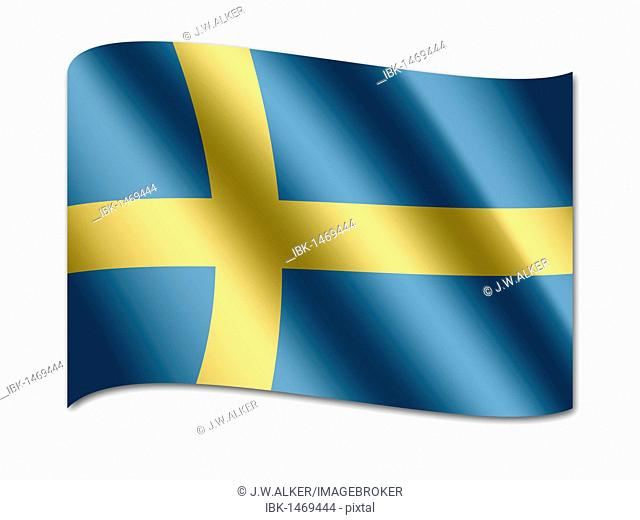 Flag of Schweden