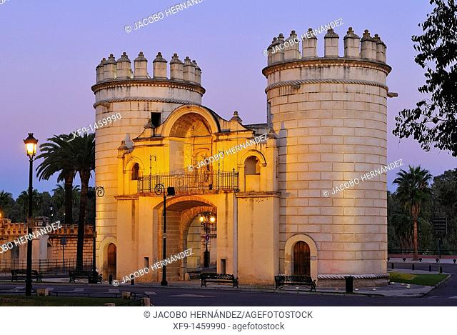 Puerta de Palmas. Badajoz. Extremadura. Spain