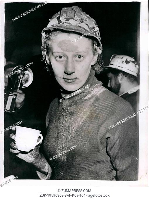 Mar. 03, 1959 - Pothole Victim dies after being trapped for 46 hours,: Neil Moss the 20 year old undergraduate died today after being trapped for 46 hours in...
