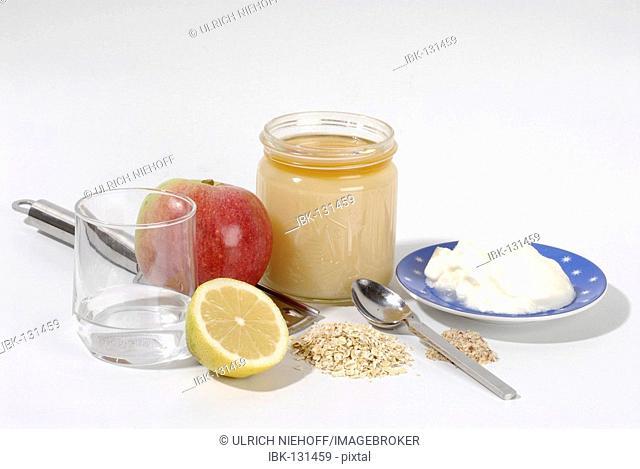 Ingredients for Bircher Cereal