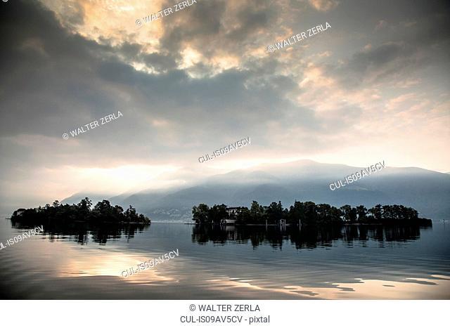 Brissago islands, Lake Maggiore, Ascona, Ticino, Switzerland