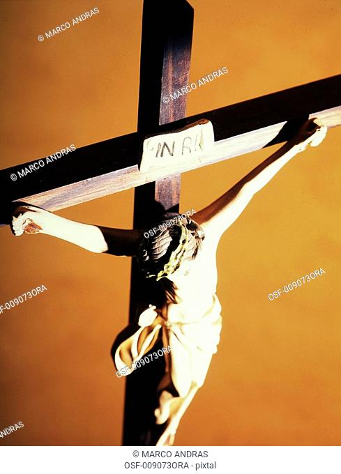 jesus christ crucified image