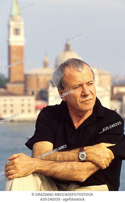 Achille Bonito Oliva, Italian art critic, 1993