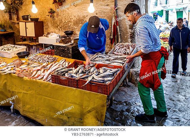 The Fish Market In The Medina, Tetouan, Morocco