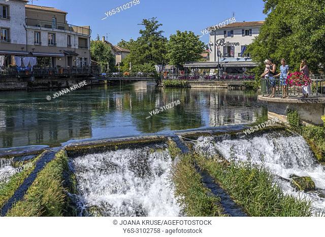 Lâ. . Isle-sur-la-Sorgue, Vaucluse, Provence, France