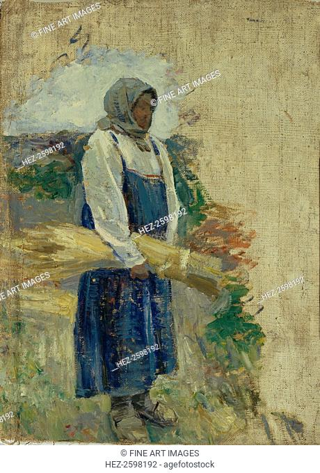 A reaper, 1896. Found in the collection of the State Tretyakov Gallery, Moscow