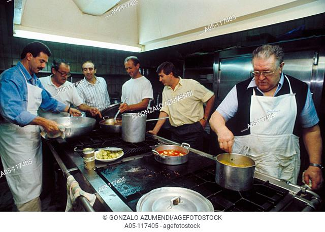 Gaztelupe Gastronomical Society. San Sebastian / Donostia. Guipuzcoa. Euskadi. Spain