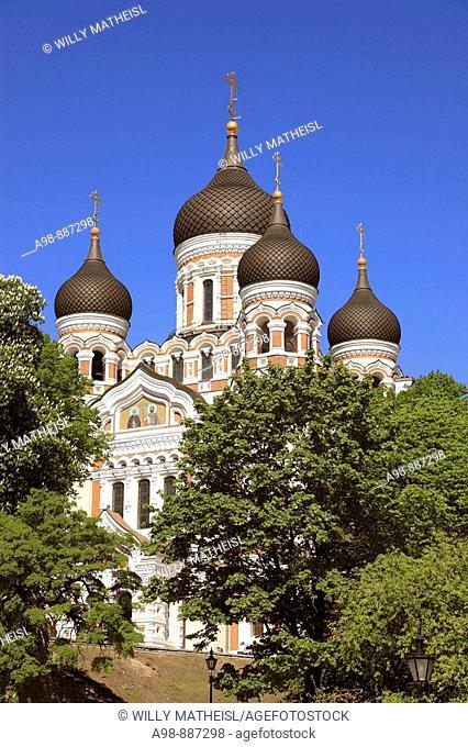 Alexander Nevski Cathedral Tallinn, Estonia, Baltic States, Northeast Europe