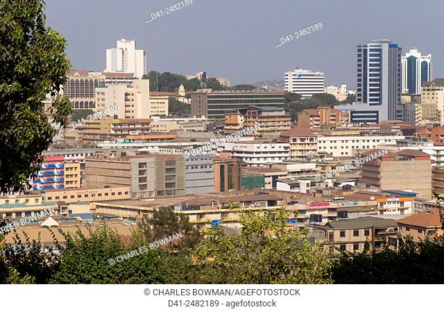 Uganda, Kampala city skyline