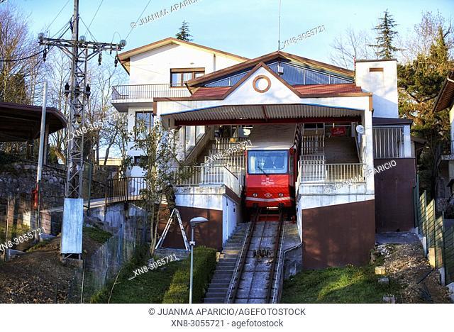 Funicular de Artxanda, Bilbao, Biscay, Basque Country, Euskadi, Euskal Herria, Spain