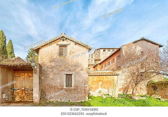 Rome San Sebastiano al Palatino