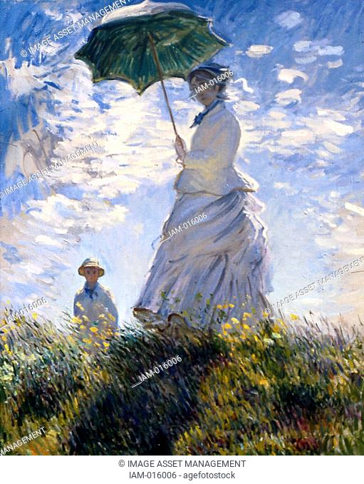 Claude Monet 14 November 1840 – 5 December 1926 French impressionist painter. The term Impressionism is derived from the title of his painting Impression
