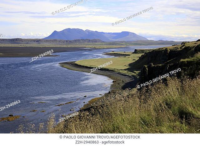 Vatnsnes peninsula landscape, Iceland, Europe