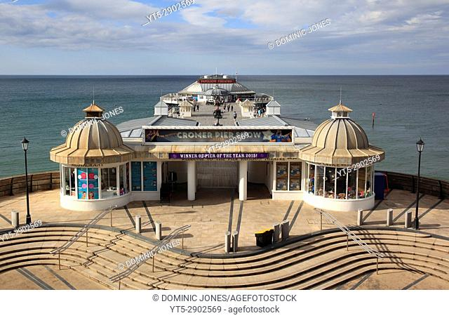 The traditional pier at Cromer, North Norfolk, England, Europe