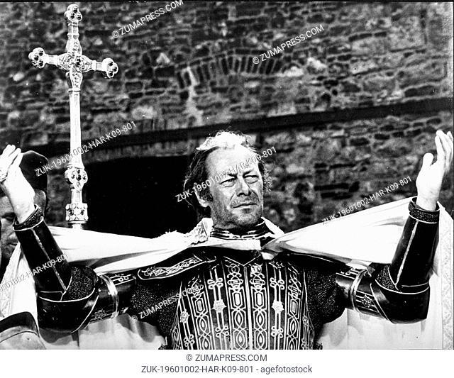 Oct. 2, 1960 - London, England, U.K. - REX HARRISON (1908-1990), born Sir Reginald Carey Harrison, is an Academy Award winning actor of both stage and screen
