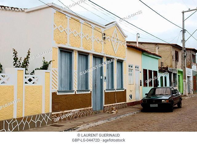 City, Houses, Palmeiras, Chapada Diamantina, Bahia, Brazil