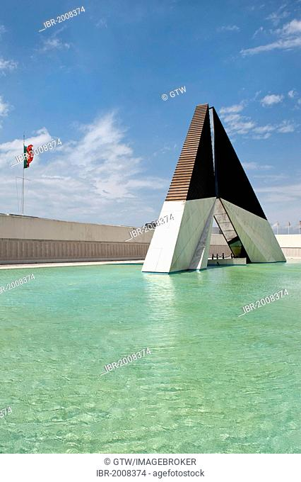 Monumento aos Combatentes da Guerra do Ultramar, Belem War Memorial, Belem district, Lisbon, Portugal, Europe